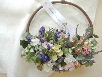hanging basket wreath.slの画像