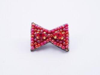 sale!!!『パーティモチーフのアクセサリー/ブローチ』 Un noeud papillon rougeの画像
