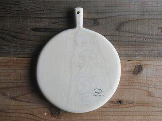 カビに強い 青森ヒバのカッティングボード まるの画像