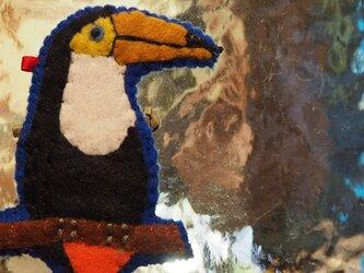 オニオオハシ ブローチの画像
