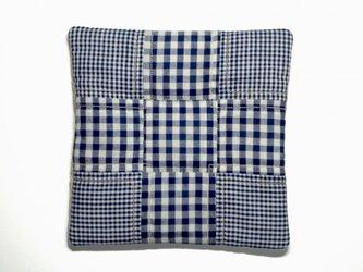 fabric tile (ギンガム×ギンガム)の画像