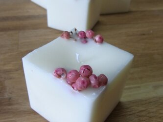 botanical soy cube * pink ※1000円→900円の画像