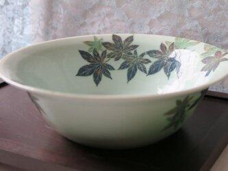 紅葉文 中鉢の画像