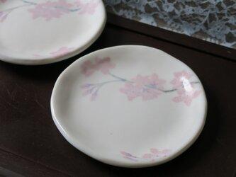 桜文 小皿の画像