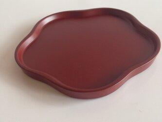 まめ皿 紅梅の画像