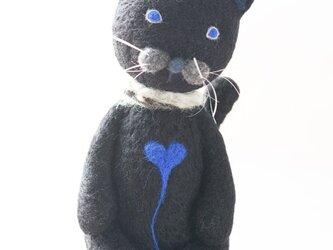 黒ネコの画像