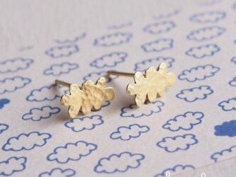 【再販】 - 18KGP - Cloudピアスの画像