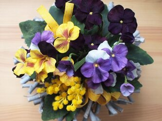 Pansy Mimosa Casquetteの画像