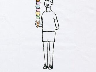 八段アイス・少年の画像