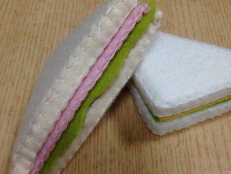 サンドイッチ ハム&レタス (カードスタンド)の画像