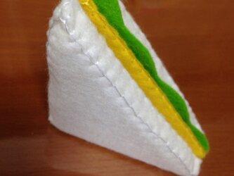 サンドイッチ チーズ&レタス (カードスタンド)の画像