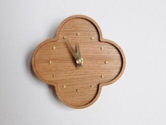 ならの小さな壁掛け時計の画像