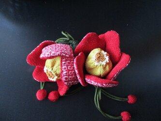 椿の香袋2の画像