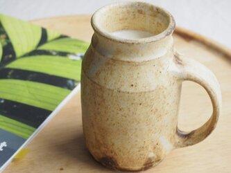 粉福(こふく)マグカップ-牛乳びん-の画像