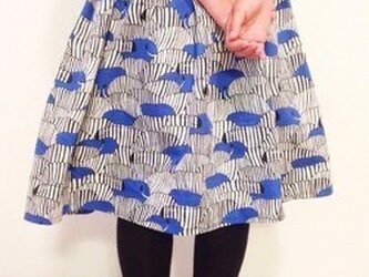Zebraフレアスカート(キッズサイズ110/120/130)の画像
