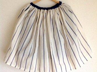 Springスカート ネイビー キッズ110/120/130)の画像