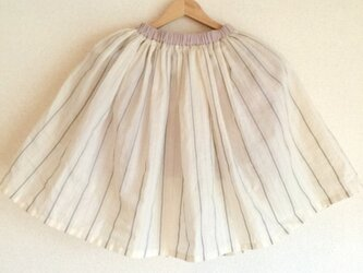 Springスカート 【グレー】(大人フリーサイズ)の画像