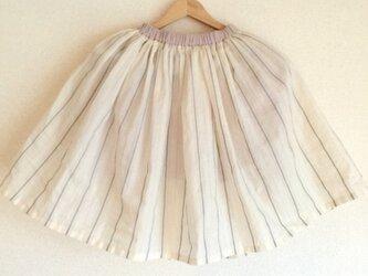 Springスカート グレーキッズサイズ110/120/130)の画像