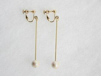 pearl earring [VE-003k]の画像
