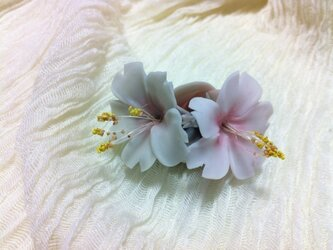淡墨桜のコサージュの画像