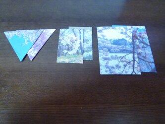 封筒6点~さくら5~の画像