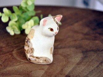 三毛猫のオブジェ(02)の画像