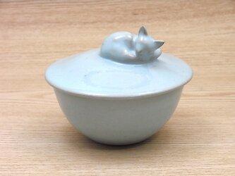 眠りネコカップ・アクアブルー・Aの画像