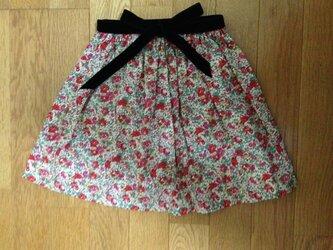 リバティ♪ギャザースカート110の画像