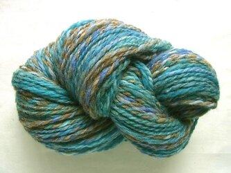 手紡ぎ糸 S-513 100gの画像