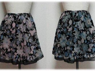 2WAY花柄スカートの画像