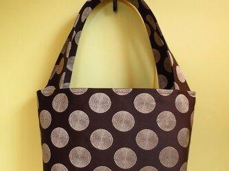セール8900円→5400円Mamiシリーズ ブラウン刺繍バッグの画像