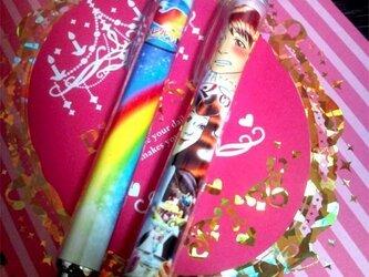 幸せの虹の鳥 ボールペン(シャープペン変更可)の画像