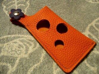 【再販・受注】i Phone 6専用 デザイン革ケース トリヨンの画像