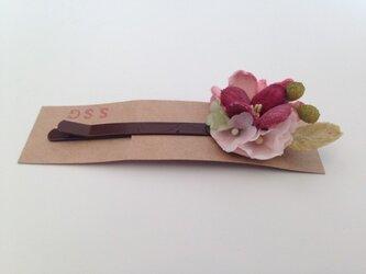 小花のヘアピン(ⅰ)の画像