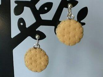 クッキーのイヤリングの画像