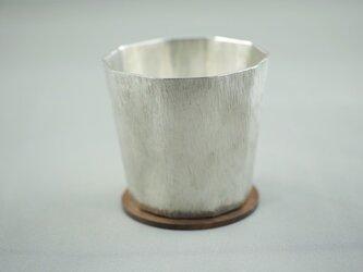 錫製 コップ(十面)の画像