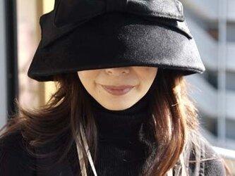 オードリー気分のお帽子の画像