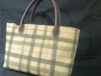 木綿のバッグの画像