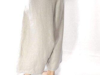 サルエルパンツ/とろみリネンの画像