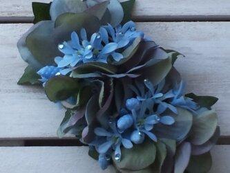 Fleur bleue (髪飾り)バレッタの画像