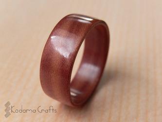 木の指輪~ジュニパーハートウッド~の画像