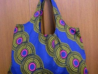 アフリカン 布バッグ(委託)の画像