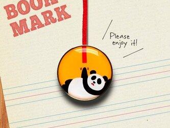 「もうちょっとパンダのクリップ型ブックマーク」no.192の画像