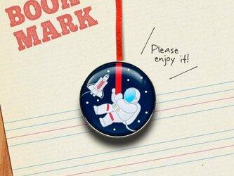「宇宙飛行士のクリップ型ブックマーク」no.186の画像