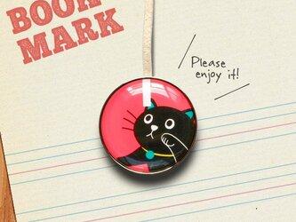 「気になるネコのクリップ型ブックマーク」no.153の画像