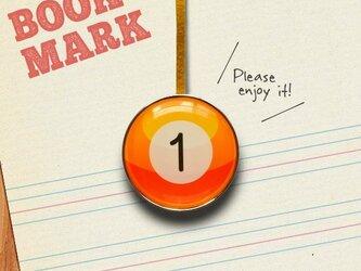 BOOKMARK 091「ビリヤードNo.1」の画像
