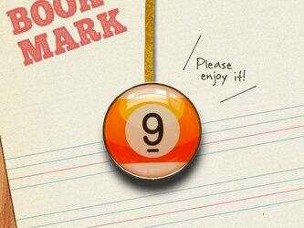 BOOKMARK 099「ビリヤードNo.9」の画像