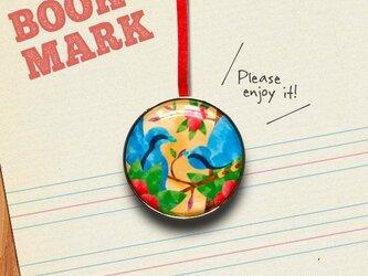 「戯れる鳥たちのクリップ型ブックマーク」no.151の画像