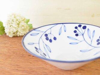 青い小枝のシリーズ 15センチの円錐ボールの画像