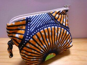 アフリカンカラフルminiポーチ petit(委託)の画像